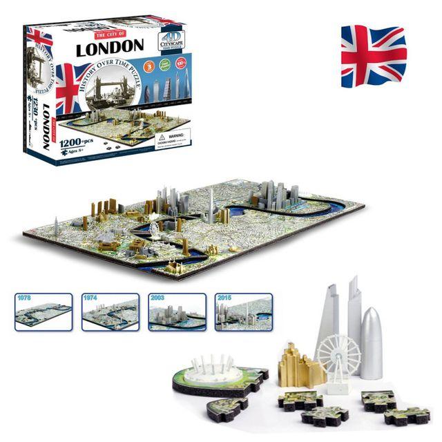 Kas Design Puzzle 4D Londres 1230 Pièces