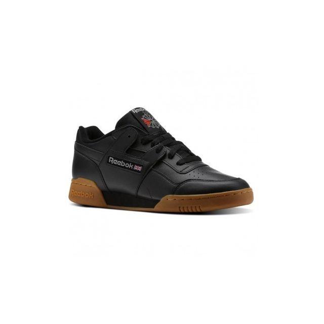 f31532679270 Reebok - Workout Plus - Cn2127 - Age - Adulte, Couleur - Noir, Genre - Homme,  Taille - 42,5 - pas cher Achat / Vente Chaussures basket - RueDuCommerce