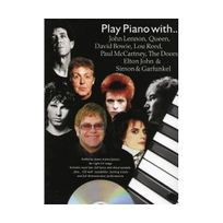Wise Publications - Play Piano With Lennon Queen Bowie, Lou Reed, Doors + Cd