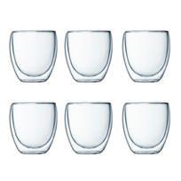 BODUM - PAVINA Set 6 verres, double paroi, 0.25 l