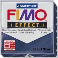 Dtm Loisirs Creatifs - Staedtler Pâte a modeler a cuire Fimo Effect bloc 56 g saphire