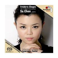 Pentatone - Frederic Chopin: Two Piano Concertos CDDVD