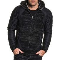 fd2cb27291afb Gilet capuche homme maille - Achat Gilet capuche homme maille pas ...