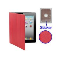 Yonis - Smart cover iPad 2 sticker rouge