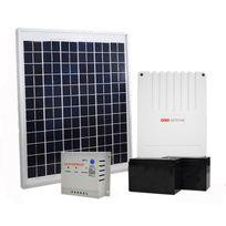 Kit solaire pour motorisation de portail et garage 20 W