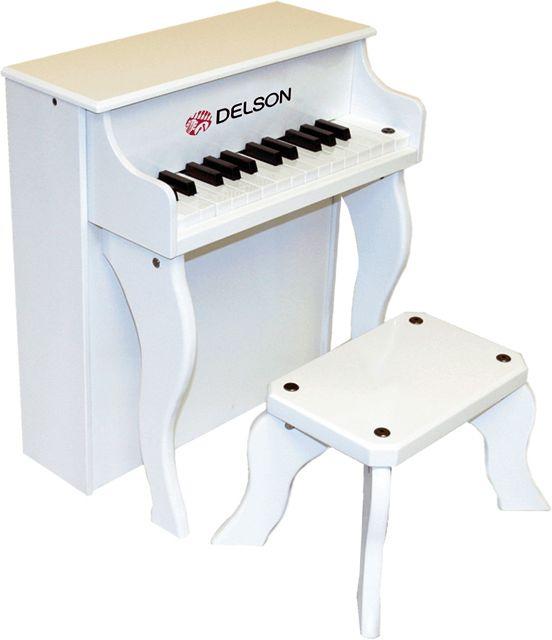DELSON Piano droit Enfant Blanc 2505-WH