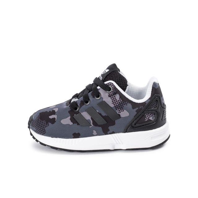 031125881a03a Adidas originals - Zx Flux El Camo Bébé Noire - pas cher Achat ...