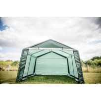 foresta abri jardin en toile verte toit 2 pentes 133 m2 habat3737