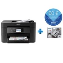 EPSON - Workforce WF-4720DWF + Multipack Cadenas XL Noir,Cyan,Magenta,Jaune