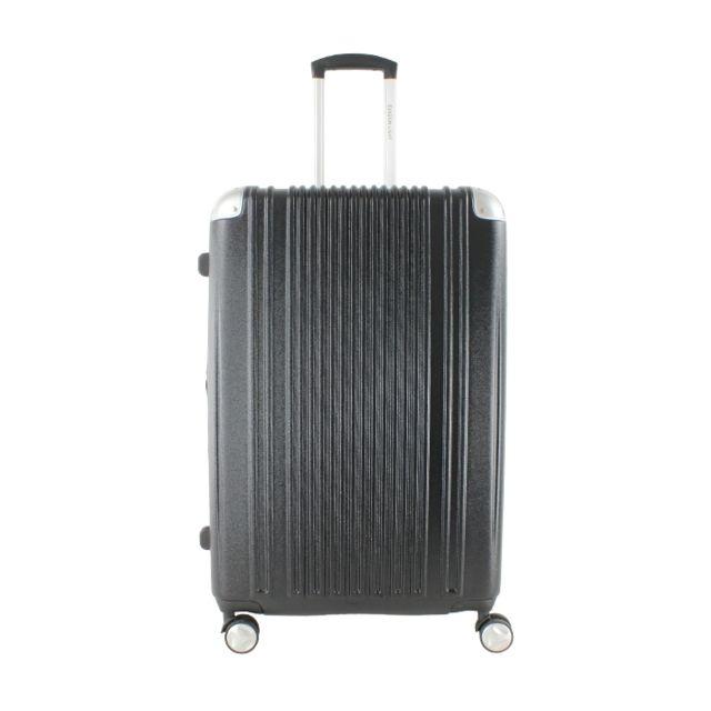 evasion light valise rigide safe 76 cm noir pas cher achat vente valises trolleys. Black Bedroom Furniture Sets. Home Design Ideas