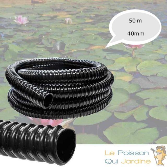 Le Poisson Qui Jardine 50 Mètres, Tuyau, 40 mm, Pvc Souple, Pour Aquarium Ou Bassin De Jardin