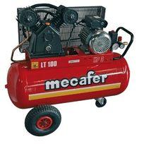 Mecafer - Compresseur 3 Hp cuve 100L - bicylindre V fonte