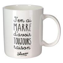 "Shaman - Mug ""toujours raison"