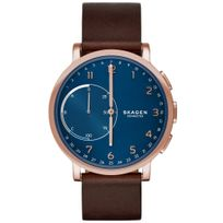 Skagen - Montre Connectée Connected en Cuir Marron