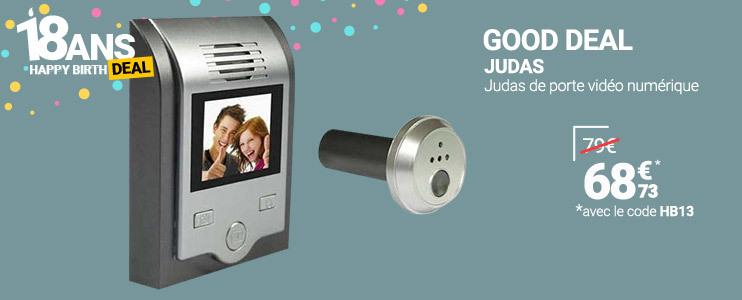 Judas de porte vidéo numérique