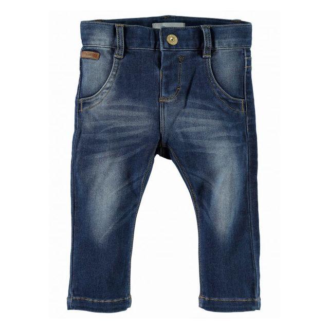 2614405c039ad Name It - Jean Bébé Fille Rita Dark Denim - pas cher Achat / Vente Jeans,  pantalons, salopettes - RueDuCommerce