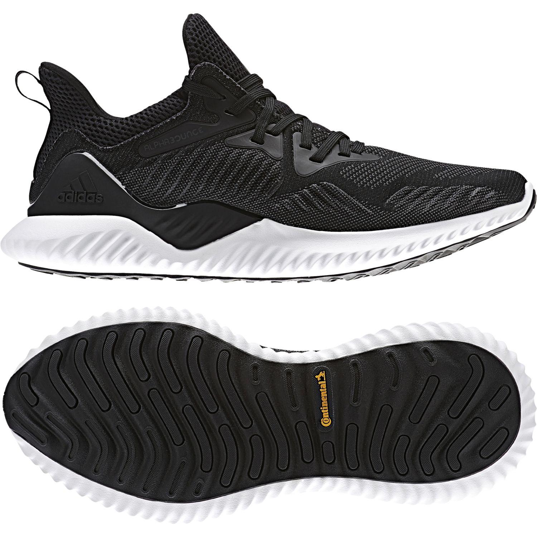 Adidas - Chaussures Alphabounce Beyond noir/noir/blanc - pas cher Achat / Vente Chaussures running