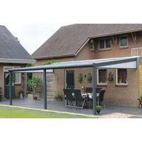 Sonnier Bois Panneaux Menuiserie - Pergola aluminium 5060 x 2500 - 3 poteaux