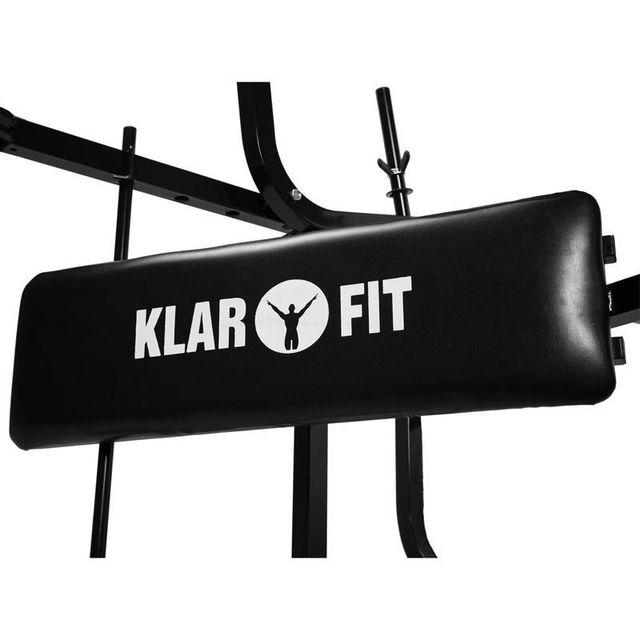 KLARFIT - Banc de musculation abdominaux fessiers butterfly