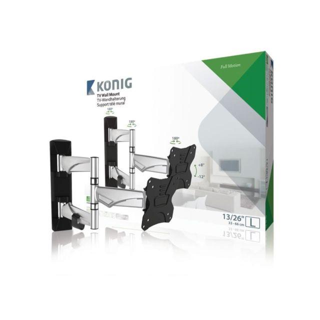 Konig - König Support mural a mobilité intégrale pour Tv Premium 13 - 26