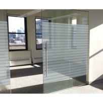 Lineafix - Film décoratif vitrostatique Office - 150 x 92 cm - Transparent