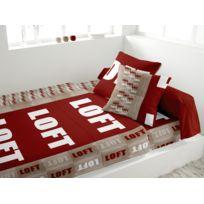 Intemporel - Parure de lit Loft rouge