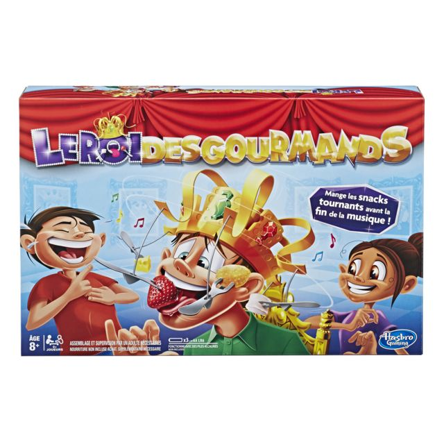 HASBRO GAMING Le Roi des Gourmands - E24201010