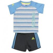 Adidas originals - Ensemble Sum Set bleu Bébé Garçon Adidas