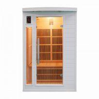 France Sauna - Sauna Infrarouge Soleil Blanc - 2 Places