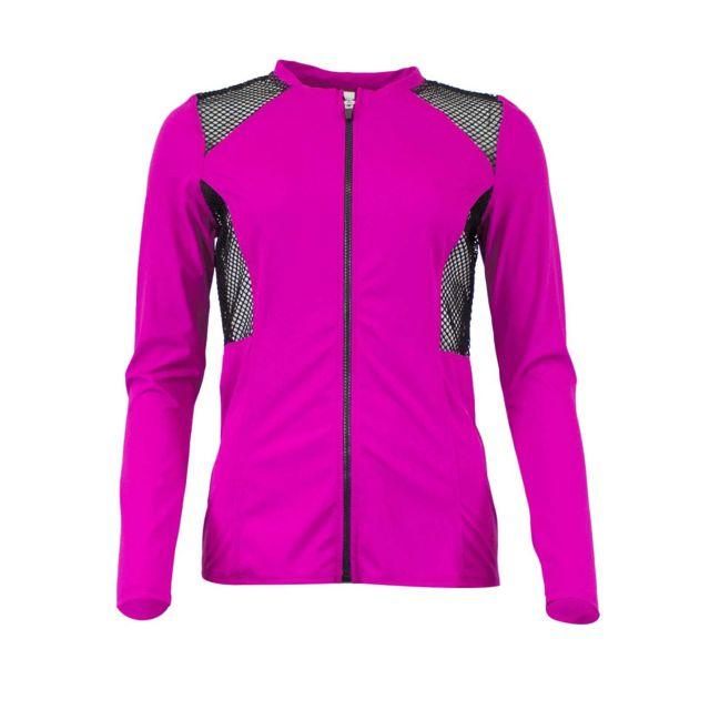 739ba1e5a50806 Oakley - Veste Sport Mesh Violet XS - pas cher Achat   Vente Gilet femme -  RueDuCommerce