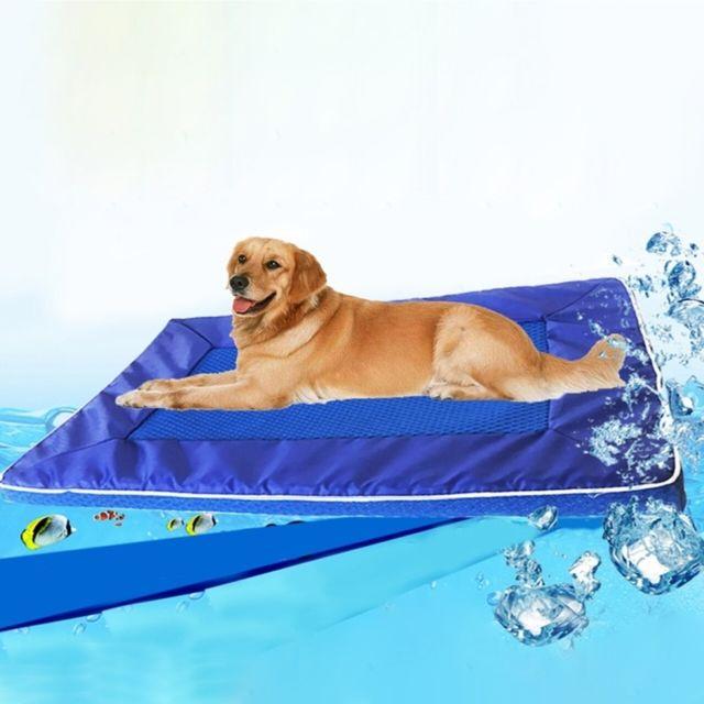 Wewoo Pour Animal de compagnie Refroidir Pad Coussin détachable chien tapis, petit, taille: 28 44 4cm Été Pad Bed House Pet