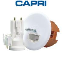 Capri - Ensemble Boite Point De Centre Dcl + Douille placo