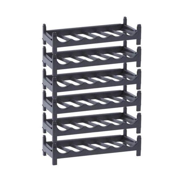 sans support a bouteille modulable rangement maison cave 970 pas cher achat vente. Black Bedroom Furniture Sets. Home Design Ideas