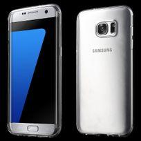 Kabiloo - Coque souple pour Samsung Galaxy S7 Edge coloris transparent