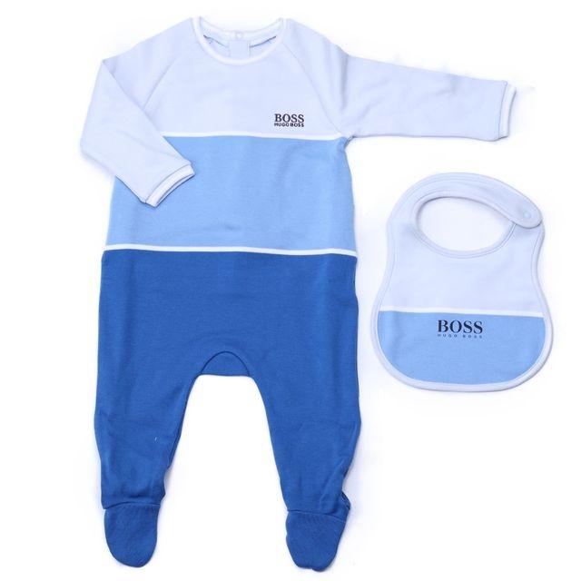 d03c9d708a806 Hugo Boss - Pyjama Bébé J98190 871 Bleu Royal - pas cher Achat ...