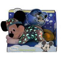 Nicotoy - Peluche Mickey s'illumine dans le noir - 30 cm - 5878962