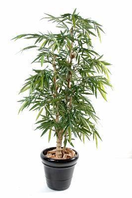 artificielflower bambou artificiel bouddha tree plante synth tique d 39 int rieur h 150cm. Black Bedroom Furniture Sets. Home Design Ideas