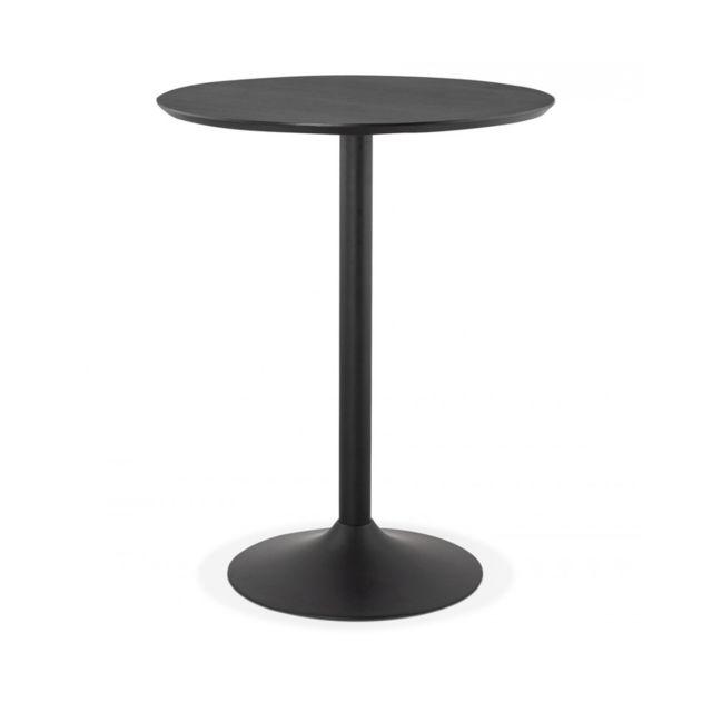 Kokoon Design Table bar design Pincho Black 90x90x110 cm
