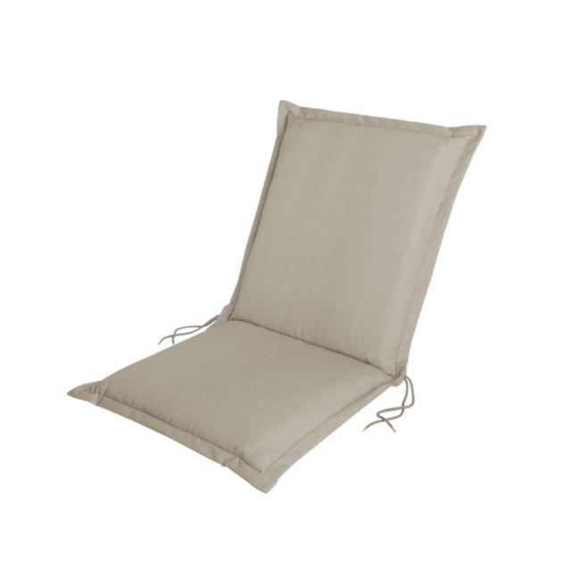 HYBA Coussin de fauteuil - Beige