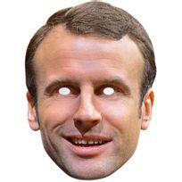Mask-arade - Masque Carton - Emmanuel Macron