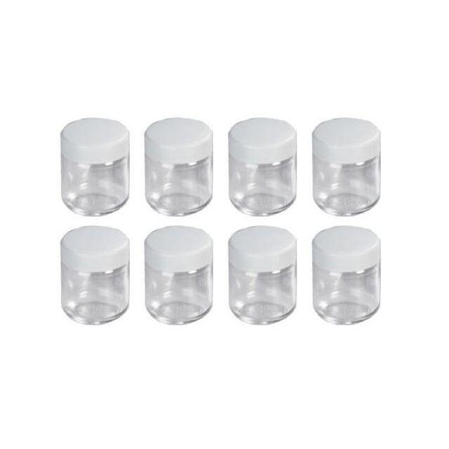 SEVERIN - lot de 8 pots pour yaourtière - eg3517