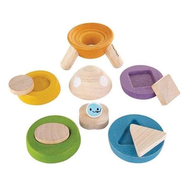 Plan Toys Fusée a Empiler