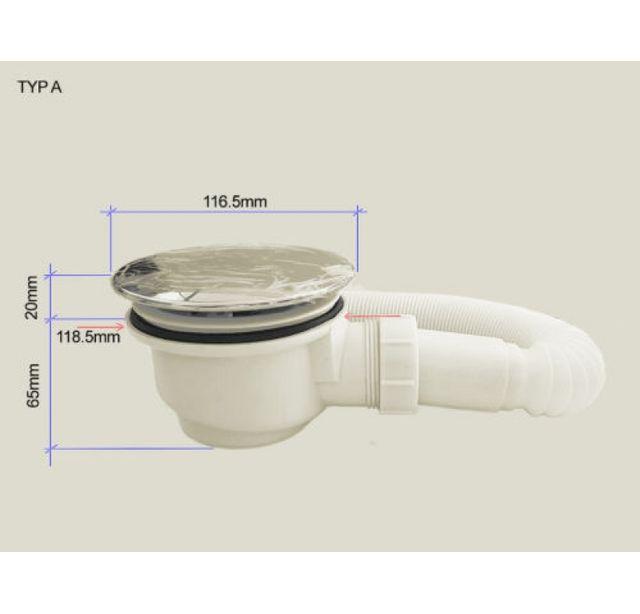 Lifestyle Proaktiv - Type-A Siphon pour receveur de douche - Bac à ...