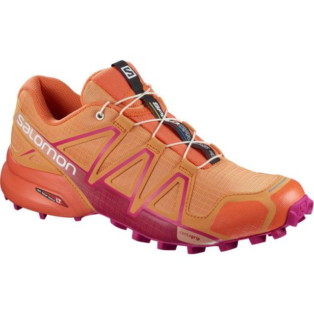 clair et distinctif prix incroyable bébé Speedcross 4 Roses Chaussures trail femme