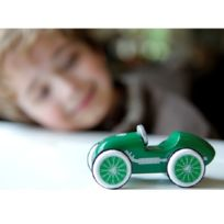 Baghera - Voiture en bois : Mini bolide Woodies : Bolide vert Le Mans