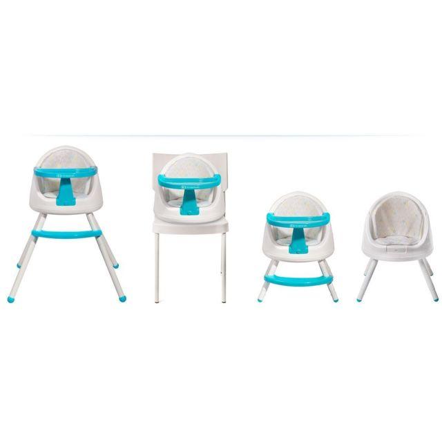 kinderkraft chaise haute volutive enfant b b 6m 5ans tutti 4en1 bleu pas cher achat. Black Bedroom Furniture Sets. Home Design Ideas