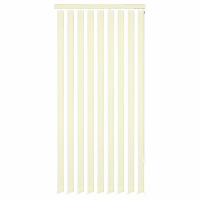 vidaxl store vertical 120 x 250 cm tissu cr me pas cher achat vente store compatible velux. Black Bedroom Furniture Sets. Home Design Ideas