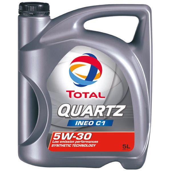 total huile moteur 5w30 quartz ineo c1 5l achat vente huiles moteurs 4t pas cher rueducommerce. Black Bedroom Furniture Sets. Home Design Ideas