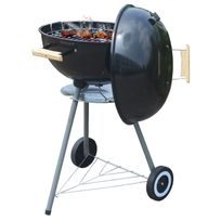 ROBBY - barbecue à charbon 47cm noir - smoker ball 47
