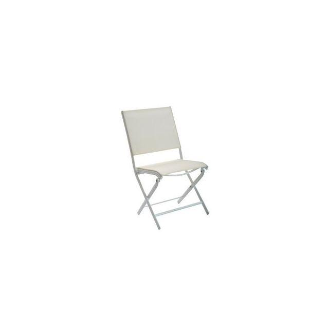 Océo - Chaise pliante Elegance alu/textilène - pas cher Achat ...